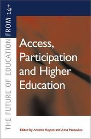 Access, Participation and Higher Education PDF