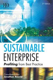 The Sustainable Enterprise by Jonathan Reuvid