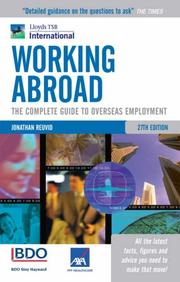 Working abroad by Jonathan Reuvid