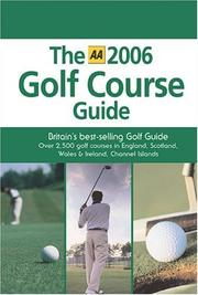 The AA 2006 Golf Course Guide PDF