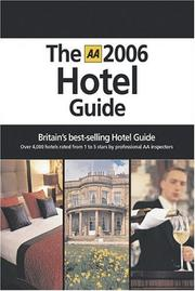 The Hotel Guide 2006 (AA Hotel Guide) PDF