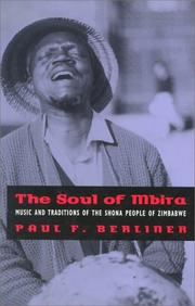The soul of mbira by Paul Berliner