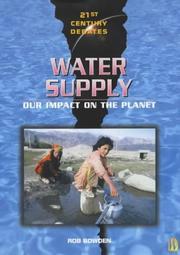 Water Supply (21st Century Debates) PDF