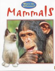 Mammals (What's the Difference?) PDF