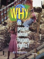 Why Do People Abuse Human Rights? (Why) PDF