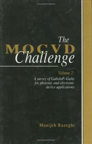 The MOCVD challenge by M. Razeghi