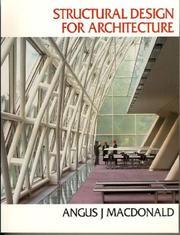 Structural design for architecture PDF