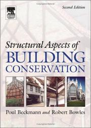 Structural aspects of building conservation by Poul Beckmann