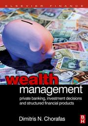 Wealth management by Chorafas, Dimitris N.