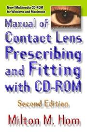 Manual of Contact Lens Prescribing and Fitting with CD-ROM PDF