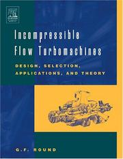 Incompressible flow turbomachines PDF