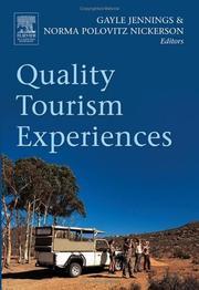 Quality tourism experiences PDF