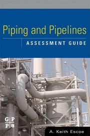 Piping and pipeline assessment guide PDF