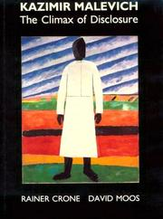 Kazimir Malevich by Rainer Crone