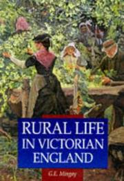 Rural life in Victorian England PDF