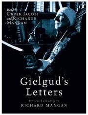 Gielgud's Letters PDF