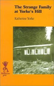The Strange Family at Yorke's Hill PDF