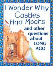 I Wonder Why Castles Had Moats PDF