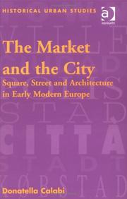 The market and the city by Donatella Calabi