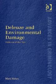 Deleuze And Environmental Damage by Mark Halsey