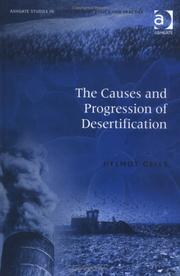 The causes and progression of desertification by Helmut Geist