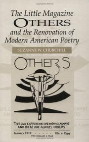 The little magazine Others and the renovation of American poetry by Suzanne W. Churchill