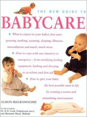 The New Guide to Babycare by Alison Mackonochie