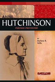 Anne Hutchinson by Darlene R. Stille