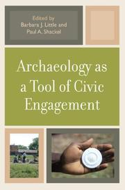 Archaeology as a Tool of Civic Engagement PDF