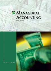 Managerial accounting by Pierre L. Titard