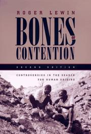 Bones of contention by Roger Lewin