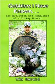 Gobblers I Have Known PDF