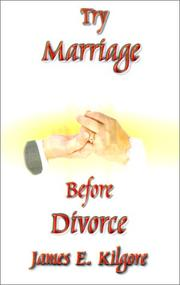 Try Marriage Before Divorce PDF