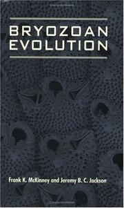 Bryozoan evolution by Frank K. McKinney