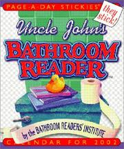Uncle John's Bathroom Reader Page-A-Day Stickies Calendar 2002 PDF
