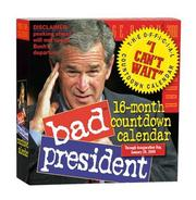 Bad President Countdown Page-A-Day Calendar 2008 PDF