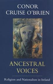 Ancestral voices by O'Brien, Conor Cruise