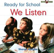 We listen by Sharon Gordon
