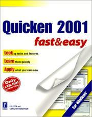 Quicken 2001 Fast & Easy PDF