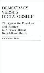 Democracy Versus Dictatorship PDF