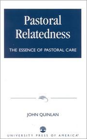 Pastoral relatedness PDF