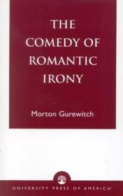 The comedy of romantic irony PDF