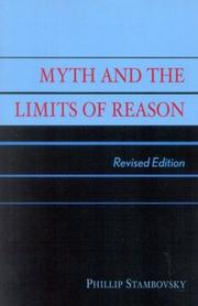 Myth and the Limits of Reason PDF