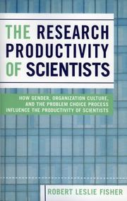 The Research Productivity of Scientists PDF