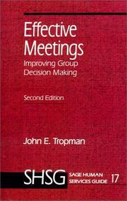 Effective meetings PDF
