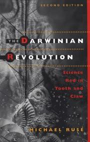 The Darwinian revolution by Michael Ruse