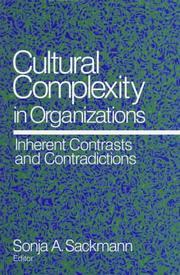 Cultural Complexity in Organizations PDF