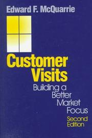 Customer visits by Edward F. McQuarrie