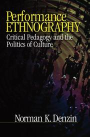Performance Ethnography PDF