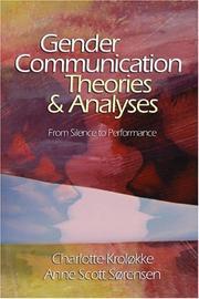 Gender communication theories & analyses PDF
